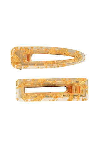 Hinged Hair Clip 2 Pack