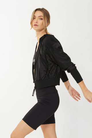 Luxe Active Hooded Jacket