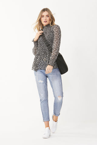 Estelle Shirred Blouse