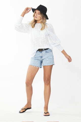 Haven Puff Sleeve Blouse
