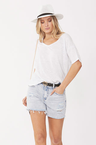Lily Scoop Neck Tee