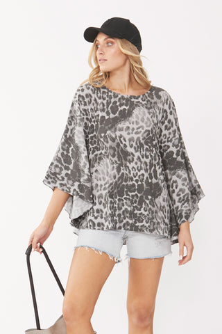 Marlie Cape Swing Top
