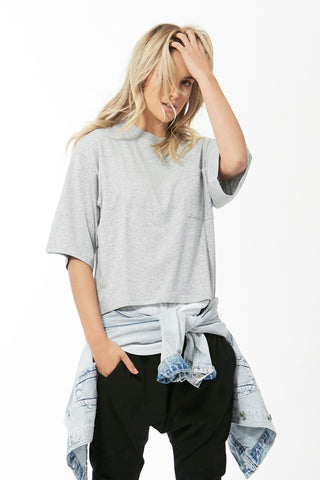 Luxe Outline Boxy Tee