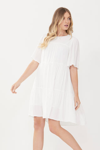 Jessie Tiered Mini Dress