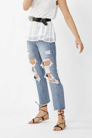 Whitney Distressed Jean