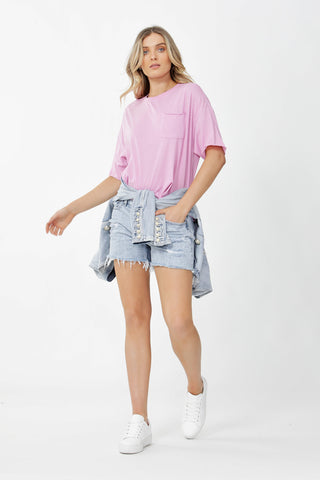 Mara Boxy Pocket Tee