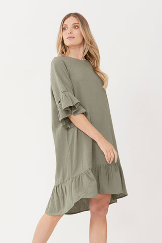 Miya Ruffle Dress