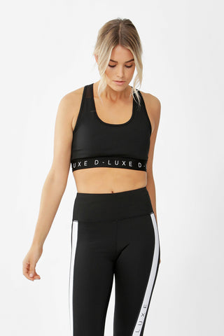 D-Luxe Active Mesh Sports Bra