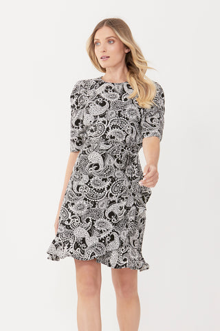Maya Puff Sleeve Dress