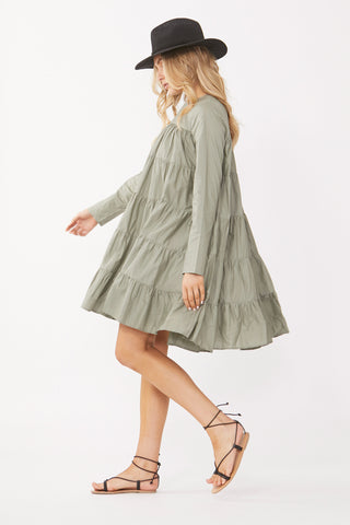 Hazel Tiered Mini Dress