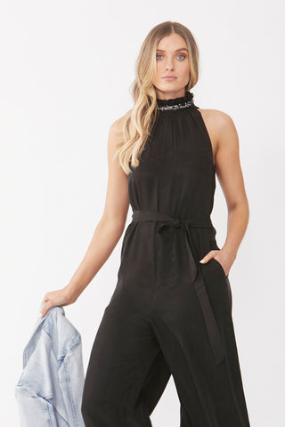 Elena High Neck Jumpsuit