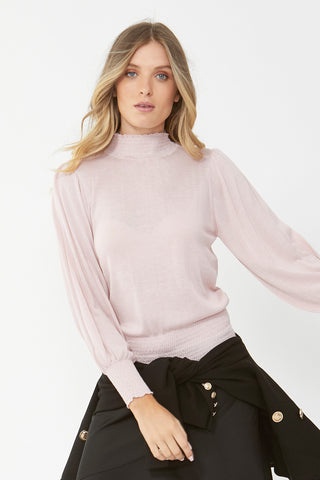 Amanda Shirred Knit