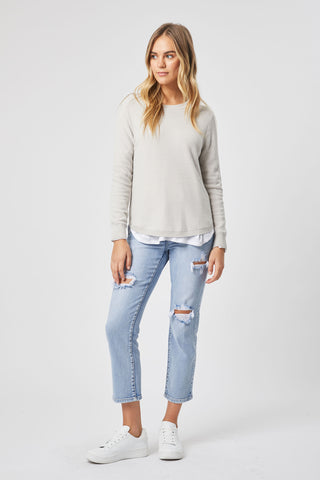 Alex Curved Hem Jumper
