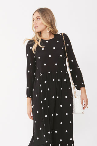 Lulu Tiered Midi Dress