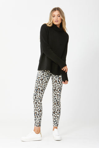 Evie Animal High Rise Skinny