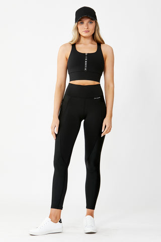 D-Luxe Active Zip Legging