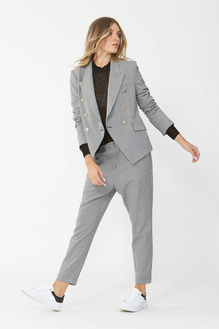 Carly Houndstooth Blazer