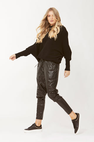 D-Luxe PU Jogger