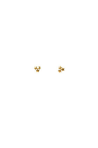 Haven 3 Star Stud Earrings
