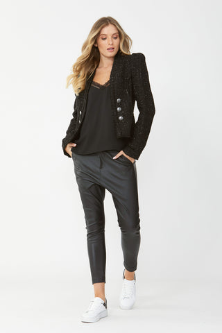 Mina Textured Jacket