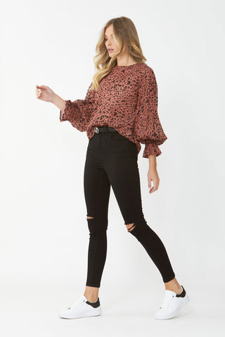 Kyra Balloon Sleeve Blouse