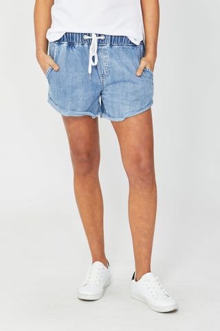 D-Luxe Denim Jogger Short