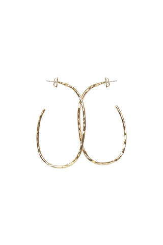 Zadie Irregular Hoop Earrings