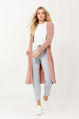 Grace Feather Cardigan