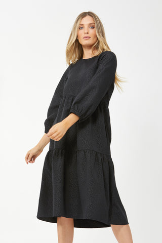 Lila Tiered Midi Dress