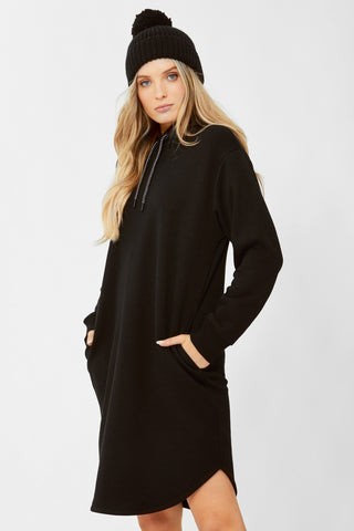 D-Luxe Hooded Sweat Dress