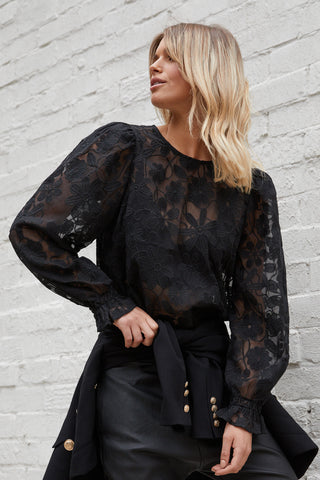 Everly Embroided Blouse