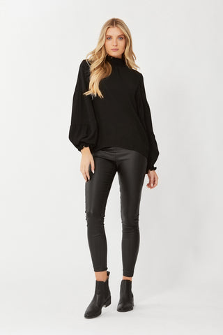 Ivy Seamed Sleeve Blouse