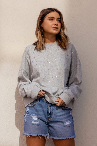 Izzy Embellished Sweat