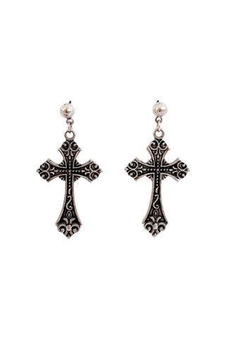 Fiona Cross Earrings