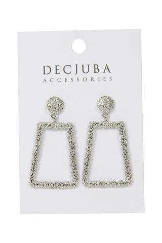 Hunter Thin Crushed Earrings