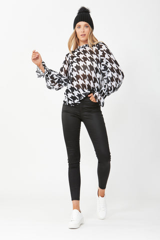 Victoria Balloon Sleeve Blouse