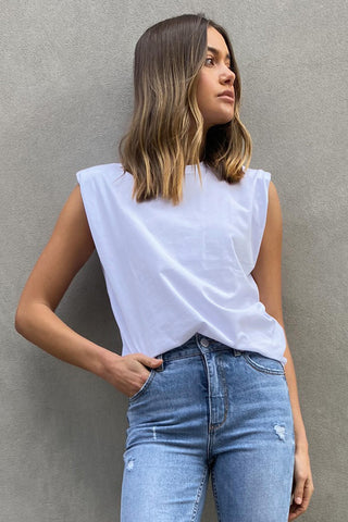 Dani Shoulder Detail Tee
