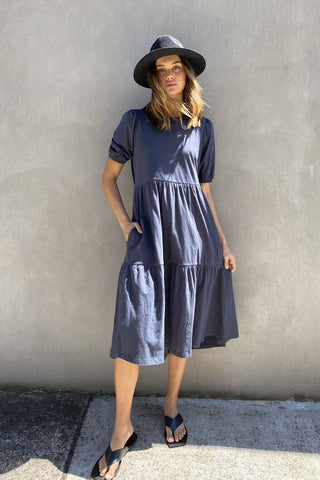 Jordyn Tiered Midi Dress