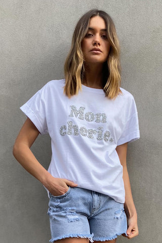 Mon Cherie Embellished Tee