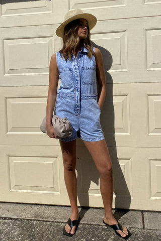 Tahli Denim Romper