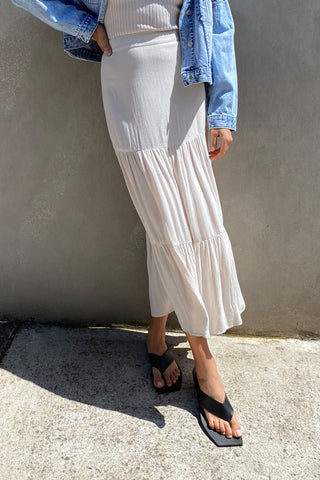 Alice Crinkle Maxi Skirt