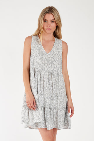 Lucy Sleeveless Mini Dress