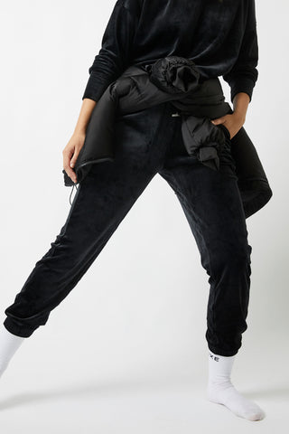 D-Luxe Velour Pant