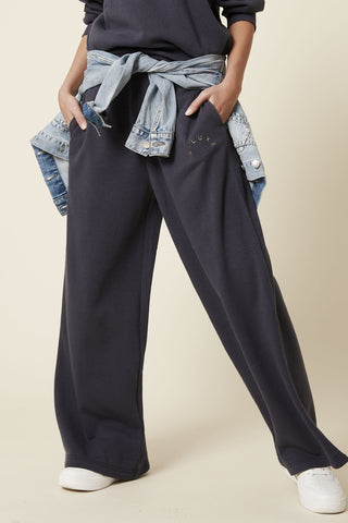 D-Luxe Wide Leg Track Pant