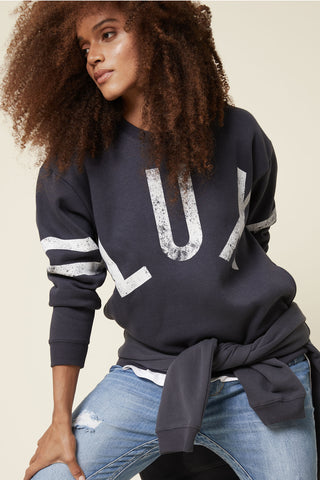 D-Luxe Print Sweat