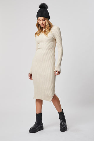 Kit Ribbed Knit Dress