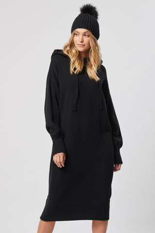 Emmett Hooded Knit Dress
