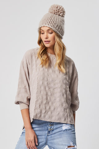 Molly Textured Top