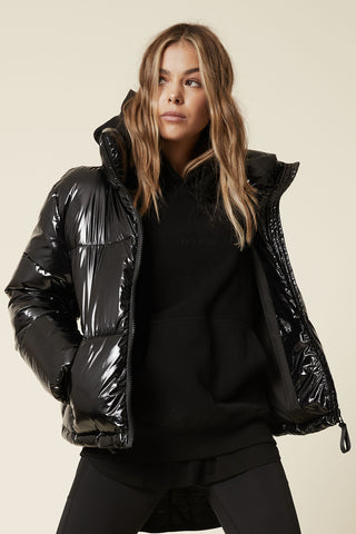 D-Luxe Wetlook Short Puffer