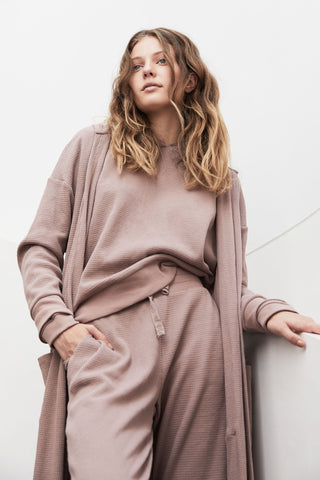 D-Luxe Lounge Waffle Robe